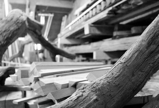 Holz-Rohdiamanten