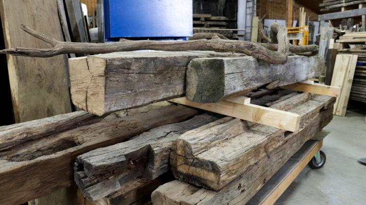 Holz-Rohdiamanten 04